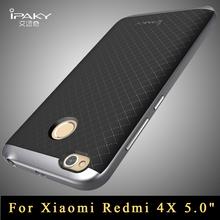 """Buy redmi 4x case Original ipaky Brand luxury xiaomi redmi 4x case Armor PC Frame + silicone back cover redmi4x cover 5.0"""" for $4.74 in AliExpress store"""