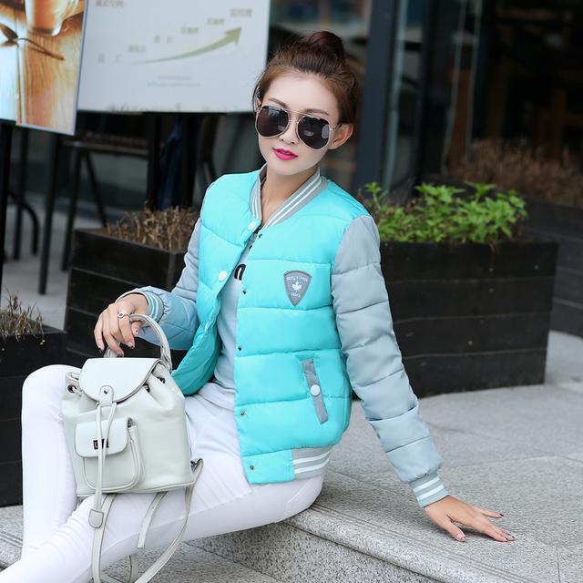 Новый 2015 мода парки зимний женский пуховик женская одежда зимнее пальто женщин ...