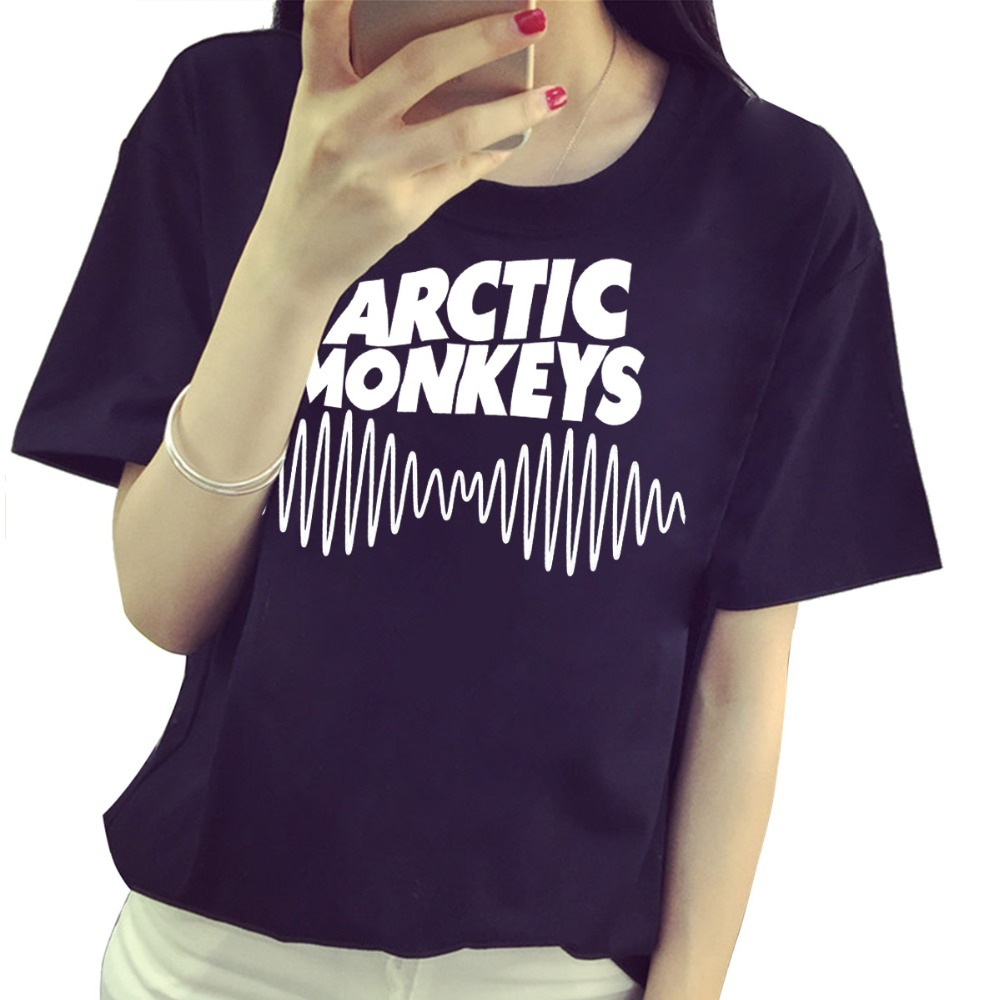Arctic Monkeys Indie Rock And Roll T Shirt Cotton Casual