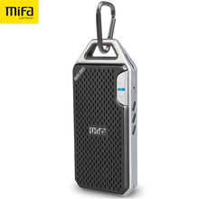 MIFA F4 Wireless Bluetooth Speaker With Mic Micro SD Hook portable bluetooth speaker Aluminum Alloy Housing shock resistance