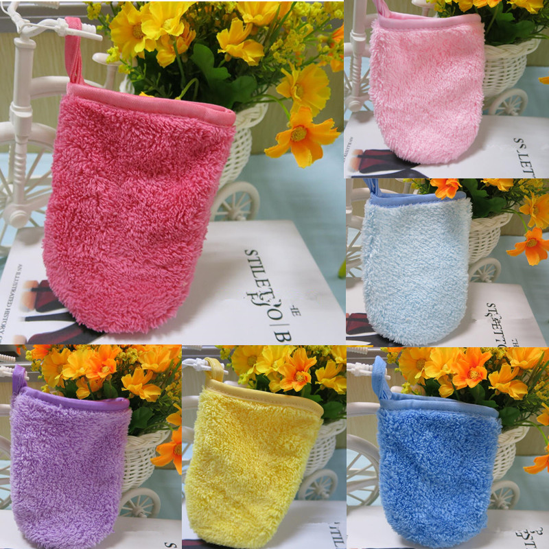 1 Pc 7 Colors Makeup Remove Glove More Portable To Carry Than The Makeup Remover Towel Cheaper Than Makeup Eraser Towel