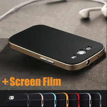 Luxury Thin Hybrid 2 in 1 Soft Silicone+PC Frame Armor Case Cover For Samsung Galaxy S3 S 3 I9300 Shock Proof Back Phone Cover(China (Mainland))