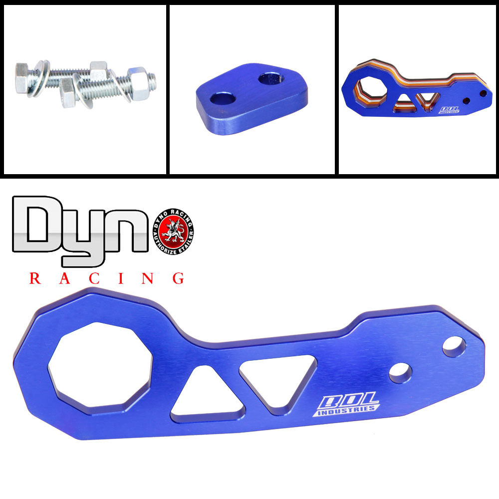 Dyno racing -2015 High Quality Car styling Hot  Popular Unveral CNC JDM Rear Tow Hooks Towing Hook For honda TH004(China (Mainland))