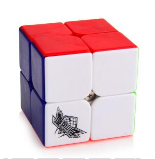 Cyclone Boys FeiChang 2x2x2 Magic Cube Colored 2x2 Stickerless Speed Cube Educational Toy Special Toys Concept Edition Birthday(China (Mainland))