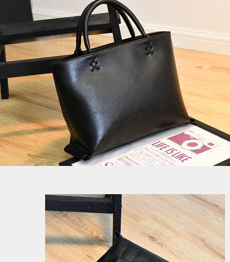 New Occident Style Handbag Women Trendy Plaid Cross Pattern Designer Bag Ladies Fashion Casual Shoulder Bag Crossbody