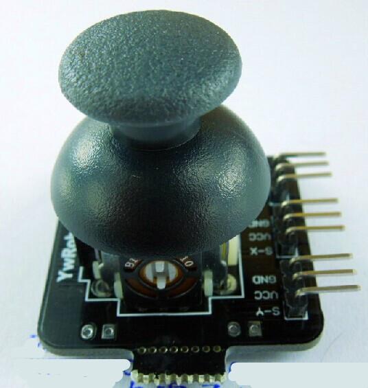 Free shipping 3PCS/LOT biaxial button joystick, PS2 joystick control lever sensor, JoyStick electronic building blocks(China (Mainland))