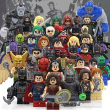 DC Super Heroes Action Figures Building Blocks Toys Minifigures legoelieds Dawn of Justice League Batman VS Superman Minifigures(China (Mainland))