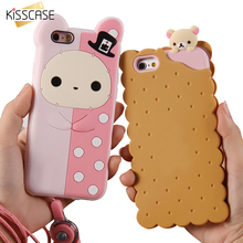 Buy KISSCASE Phone Case Apple iPhone 7 7 Plus 6 6S Plus 5 5S SE Case Cute 3D Cartoon Bear Soft Silicone Cover iPhone 7 Plus for $3.59 in AliExpress store