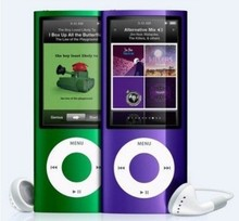 Wholesale 4th Gen Mp3 Mp4 Music Player with TF Slot, Earphones, USB Cable, Retail Box For Running and Leisure. Fair Shipping