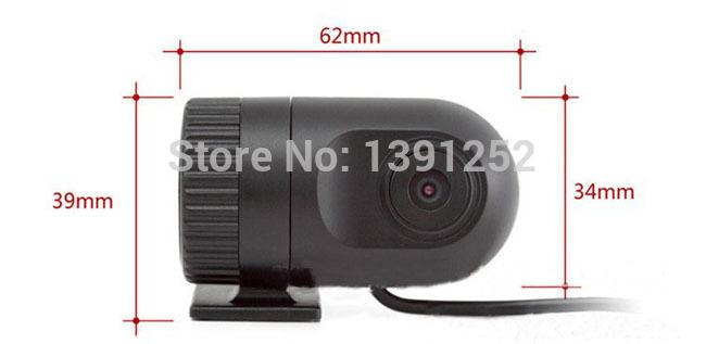 Free Shipping Mercedes Benz R class R280 2005-2013 Full HD night vision mini car DVRs 1080p camera lens recorder dvr Black Box(China (Mainland))