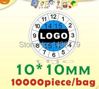 free shipping and design, Fragile paper labels, the warranty stickers, time label, label printing, label custom 10*10MM(China (Mainland))