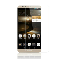 """KULE Premium Tempered Glass Screen for Huawei Ascend Mate7 MT7 Tempered Glass 9H Screen Protector for Huawei Ascend Mate 7 6"""""""