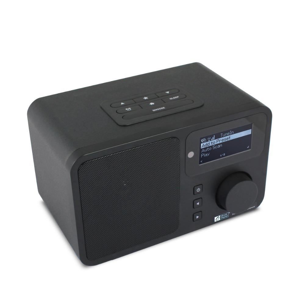 Ocean Digital Wifi Internet Radios Device News Music Media Player Home Wooden Built In Speaker WLAN