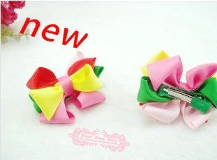 fashion girl  cat hair clips ,baby hair accessories .childern hairclips ,girl hairclips     20 pcs /lot