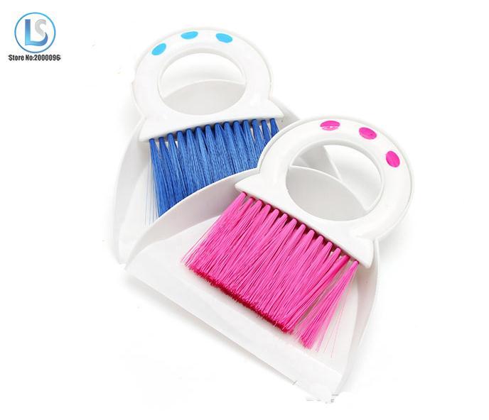Fashion mini broom dustpan Mini clean dust cleaning brush set keyboard cleaning brush desktop cleaning set A346()