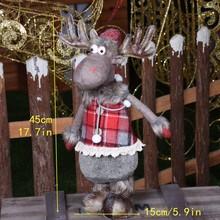 Figure di Natale Babbo Natale Bambola Di Natale Decorazioni Per La Casa Di Buon Natale Natale Ornamenti di Natale Decorazione del Giardino Navidad Nuovo Anno(China)