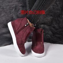 Vrouwen Laarzen Plus Size 34-43 Mode Ronde Neus Enkellaars Zip Dames Winter Boot Vrouw Schoenen Zwart Bruin blauw Sneakers Vrouwen(China)