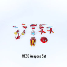 القادمون الجدد الفيلم الأعاجيب المنتقمون 4 Endgame SHF الحديد رجل MK50 نانو سلاح مجموعة 2 ألعاب شخصيات الحركة دمى لعيد الميلاد هدايا(China)