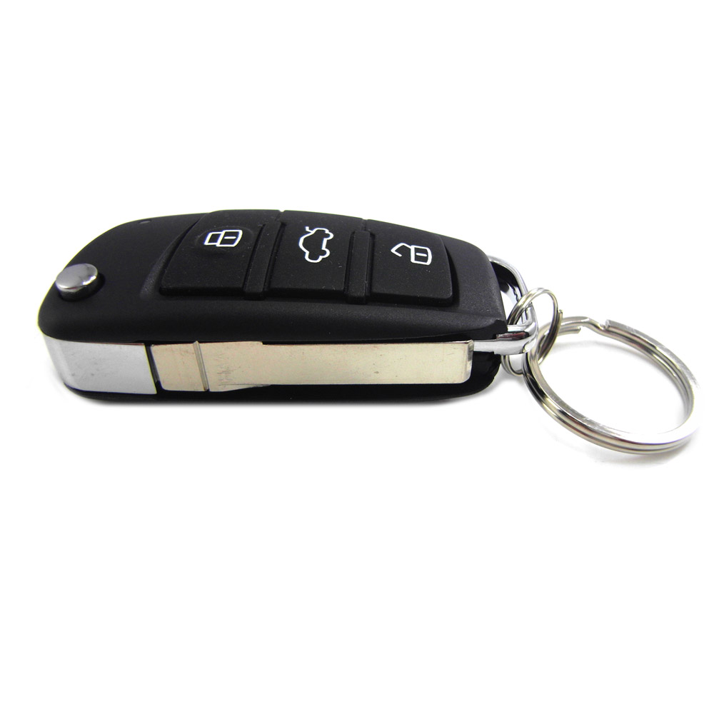 Car Central Lock, Keyless Entry Alarm System, Auto Remote Central Kit Vehicle Door Lock With 2 Remote Controllers
