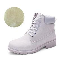 Fujin Mùa Đông Giày Nữ Giày Nữ 2020 Lông Ấm Áp Sang Trọng Sneakers Nữ Ủng Mùa Đông Giày Người Phụ Nữ Botas Mujer Nữ Mắt Cá Chân giày(China)