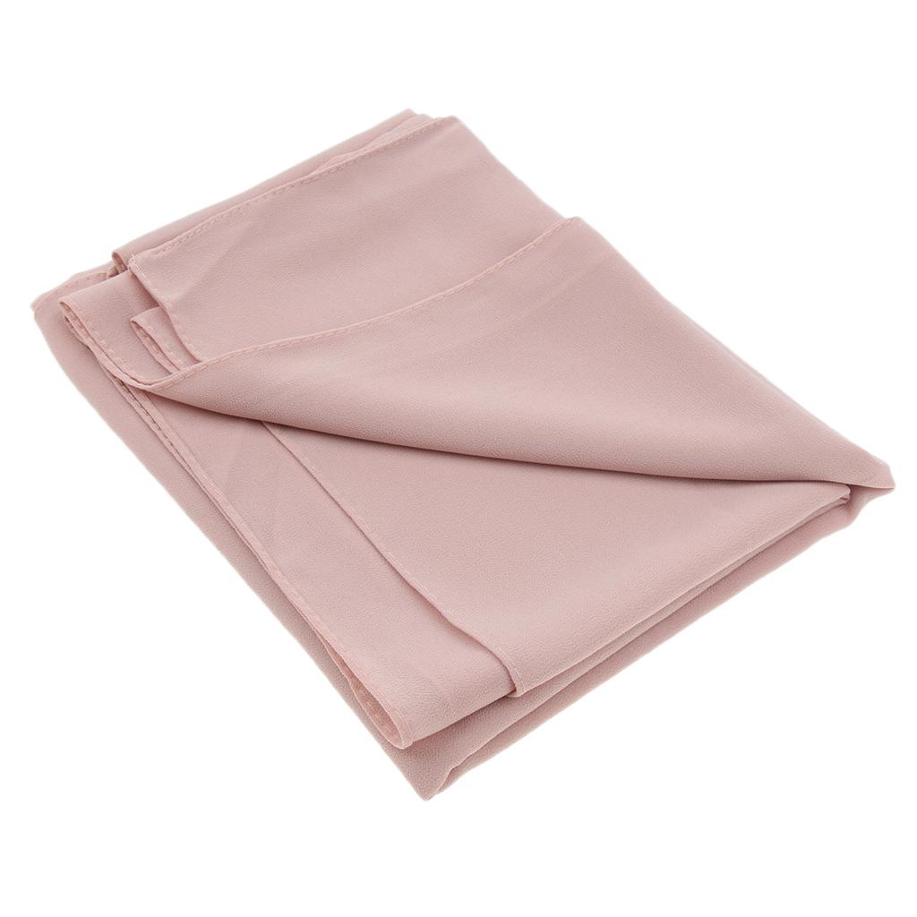 Fashion Ladies Women's Plain Bubble Chiffon Soft Large Maxi Scarf Hijab Neck Cover Shawl Sarong Wrap Solid Color
