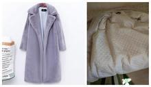 冬ファッション新高品質模造ベルベットの毛皮のコート毛皮のコートの女(China)