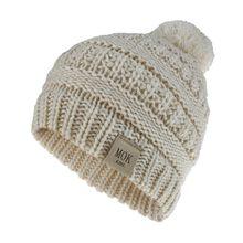 Brief print hoed Meisjes Jongens Kind Skullies Warm Houden Winter Casual Gebreide Muts Wol Hairball Ski Hoed Mutsen bonnet femme # ZD(China)