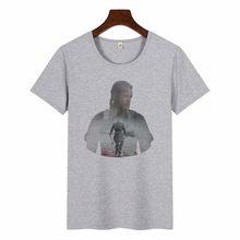 2019 האחרון עיצוב T חולצות מלך רגנר Lothbrok ויקינגים נשים קצר שרוול טי חולצה יוניסקס מזדמן חולצות O צוואר למעלה חולצת טי(China)