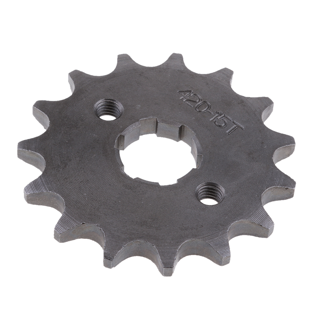 15 Tooth Front Engine Sprocket Cog for 420 Chain 110 125 140cc Pit Pro Trail Dirt Bike