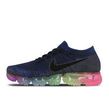 Оригинальная продукция Nike Air VaporMax Be True Flyknit дышащая мужская уличная спортивная обувь для бега удобные прочные беговые кроссовки(China)