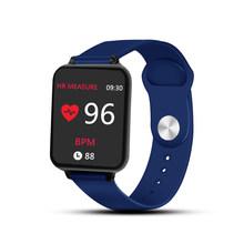 B57 montres intelligentes sport étanche pour iphone téléphone Smartwatch moniteur de fréquence cardiaque fonctions de pression artérielle pour les femmes hommes enfant(China)