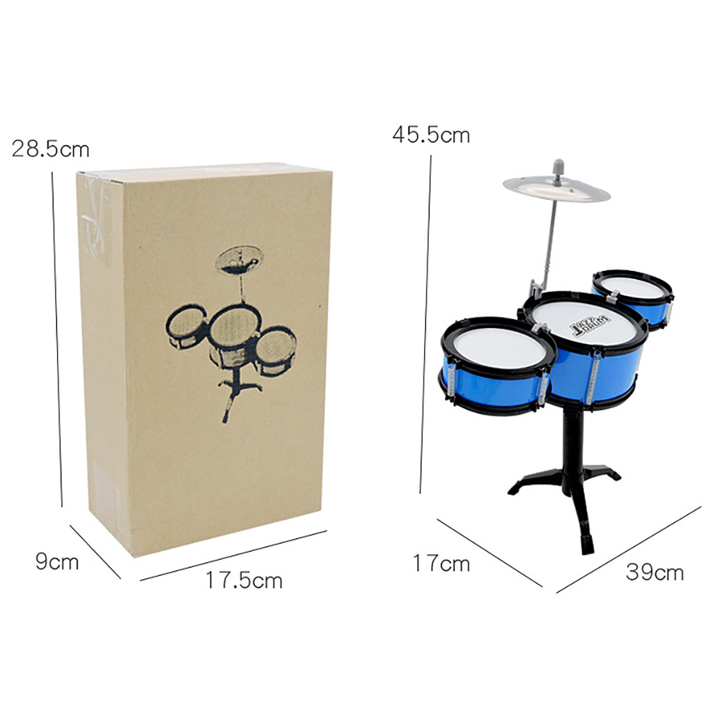 2019 New Shelf Drum toy Baby Girls Boys Music Toys Infant Playing Type Toys US