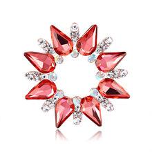 30 Gaya Syal Pin Besar Warna-warni Pelbagai Warna Hijab Kristal Bros untuk Wanita Berlian Imitasi Bros Pin Perhiasan Aksesoris(China)
