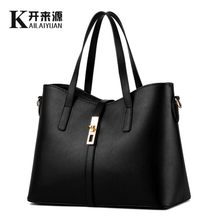 100% Kulit Asli Wanita Handbags 2019 New Paragraph Tide MS Wanita Tas Besar Tas Bahu Sederhana Tas Tas Messenger(China)