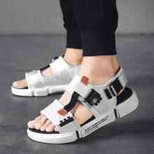 Turnschuhe größe 13 gladiator stiefel offene spitze sport 14 großen römischen sommer sandalen native strand strap plus mens mesh schuhe mode(China)