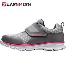 LARNMERN mannen Veiligheidsschoenen Stalen Neus Bouw Beschermende Schoeisel Lichtgewicht 3D Shockproof Werk Sneaker Schoenen Voor Mannen(China)