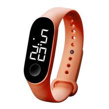LED אלקטרוני ספורט זוהר חיישן שעונים אופנה גברים ונשים שעונים שמלת שעון דיגיטלי שעון אופנה gif גברים(China)