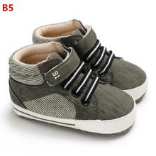 תינוק ילד נעלי חדש קלאסי בד יילוד תינוק נעלי ילד Prewalker ראשון הליכונים ילד ילדים נעלי(China)