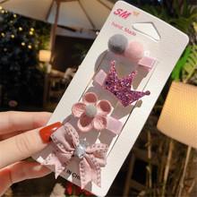 Aksesoris Rambut Jepit Rambut untuk Anak Perempuan Princess Anak Hiasan Kepala Gadis Ulang Tahun Liburan Hadiah Lucu Hewan Bunga Merah Muda Rambut Klip(China)