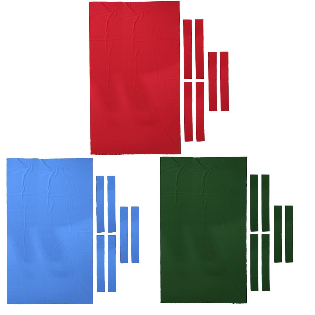 9 ft Wool Billiard Pool Table Cloth 9ft Pool Table Felt Snooker Billiard Accessories