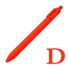 Гелевая ручка с цифрами и буквами, шариковая ручка 0,5 мм, черная чернильная подкладка, маркер, новинка, канцелярские товары, подарок на любов...(China)
