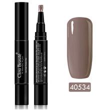 Clou Beaute Гель-лак для ногтей ручка чистый цвет основа для ногтей УФ лак для маникюра Гибридный отмачиваемый гель лак лаки для ногтей(China)