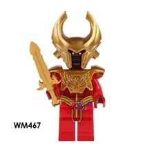 Đĩa Đơn Siêu Nhân Điện Khăn Quàng Đỏ Phù Thủy Mạc Phủ Samurai Batman Medol Deadpool Khối Xây Dựng Đồ Chơi Dành Cho Trẻ Em(China)