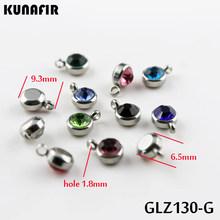 """16 """"-18"""" 4mm rhinestone serce wisiorek kolor stali nierdzewnej łańcuchy ze stali nierdzewnej naszyjnik moda biżuteria mężczyzna naszyjnik łańcuchy ZX703(China)"""