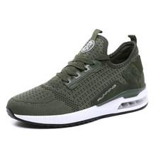 VastWave Paar Sneakers Schoenen Mesh Ademend Chaussure Homme Lente/Herfst Mannen Schoenen Luchtkussen Plus Size Dropshipping(China)