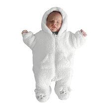 Monos lindos de franela para bebés, recién nacidos, de algodón, de conejo, para bebés, para niñas, juegos de bebé, kigurumi, recién nacido, 2019(China)