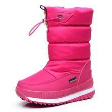-30 derece 2019 kış kızlar kışlık botlar su geçirmez kız çizmeler çocuk çizmeleri kar botları sıcak çocuk ayakkabıları çocuklar wellies erkek(China)