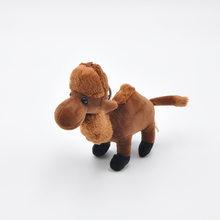 Morbido Profumato Camel Keychain Della Bambola Cammello Peluche Giocattolo Farcito Cammello Animali di Peluche Bambola Piccolo Ciondolo Giocattolo per Bambini Regalo per Bambini Del Bambino giocattolo(China)