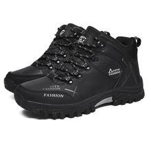BOYUTU 39-47 Erkekler yürüyüş ayakkabıları kış sıcak açık spor ayakkabılar Chaussure Homme Yürüyüş tırmanma su geçirmez ayakkabı botları Spor Ayakkabı Adam(China)