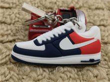 Venta caliente lindo mini silicona Air sneakers llavero baloncesto zapatos mochila colgante llavero regalo creativo zapato llavero(China)